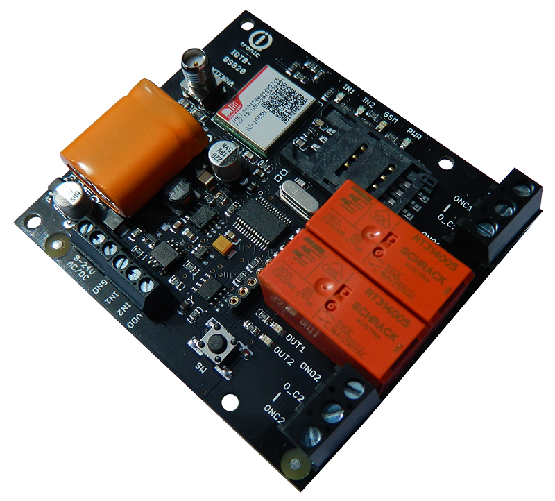 GSM smart board for DYI installations